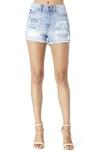 Take Control Denim Shorts