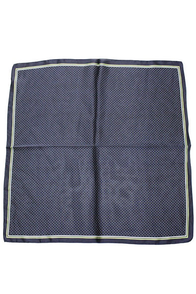 The Square Scarf in Navy