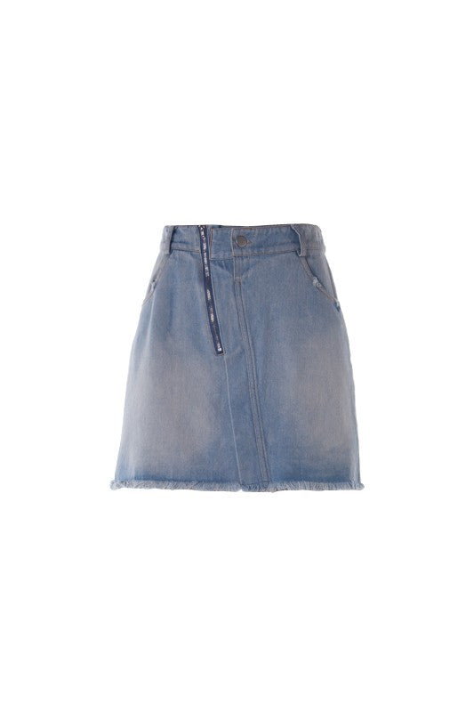 Let's Picnic Denim Skirt