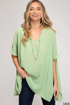For a Moment Tunic Top
