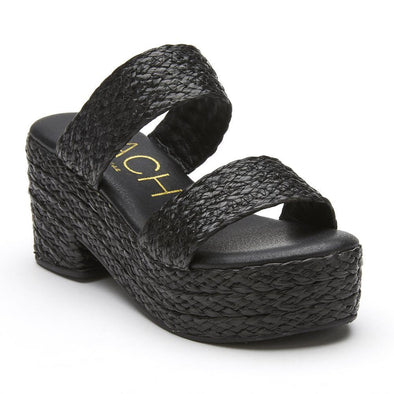 Ocean Ave Block Heel - Black