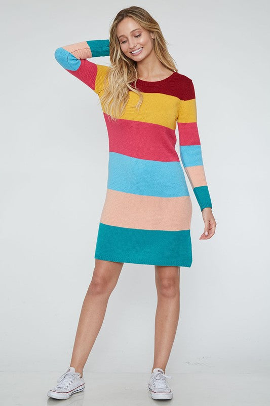The Stripe Knit Dress