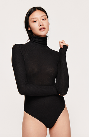 All You Want Bodysuit - Black