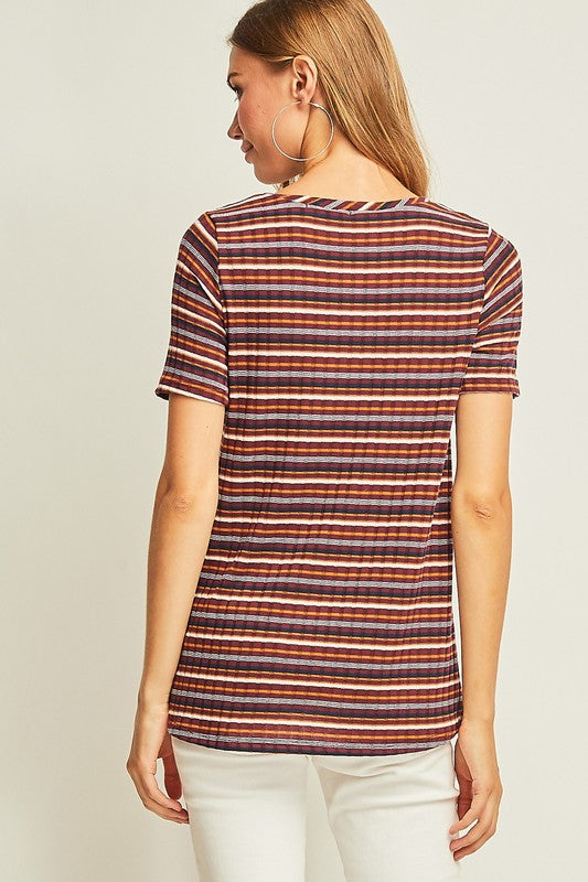 Not Your Average Striped tee