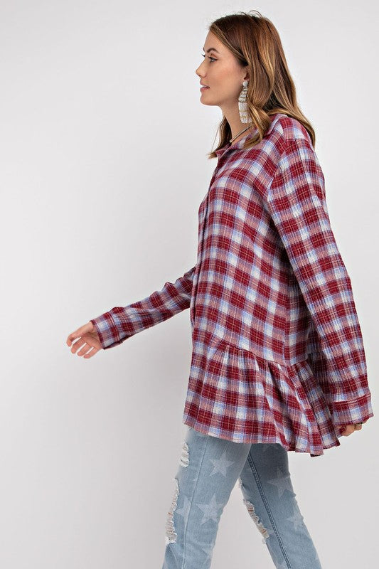 The loose Fit Button Down