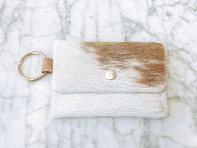 Keychain Wallet - Cowhide - Multiple Colors