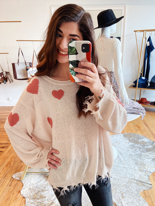 Heart You Forever Sweater