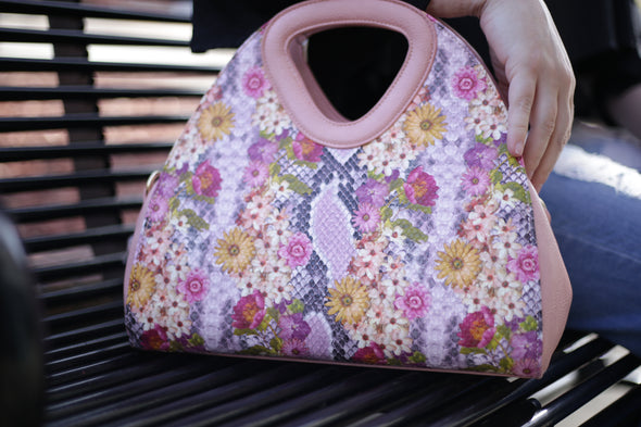 Flower Power Handbag - Pink