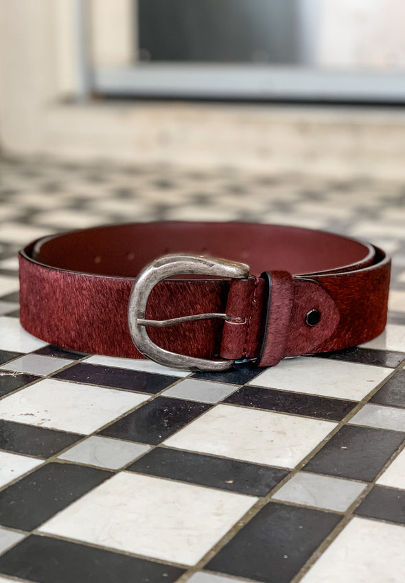 Pony Hair Belt - Multiple Colors