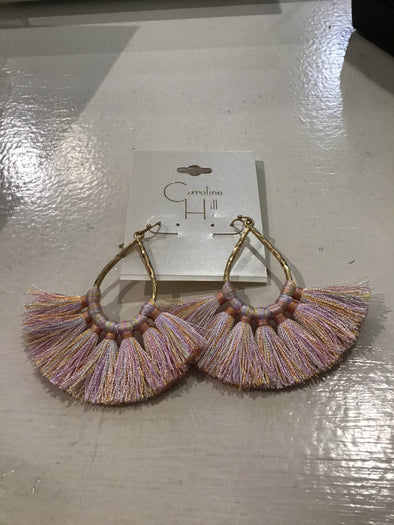Freedom Place Fan Tassel Earring