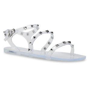 Deedee Sandals - Clear