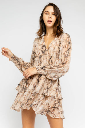 Snakeskin Fever Dress