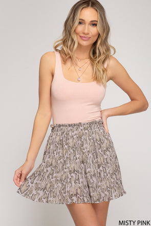 Crash Into Me Skirt