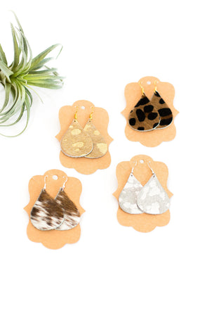 Hershey Earrings - Multiple Colors