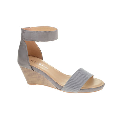 Hot Zone Heels - Grey