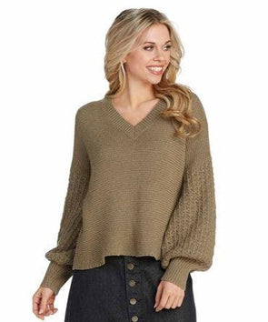 Ingrid Sweater - Moss