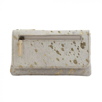 Sparkle Sharkle Leather And Hairon Wallet