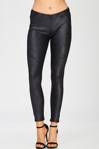 My Plans Leather Leggings