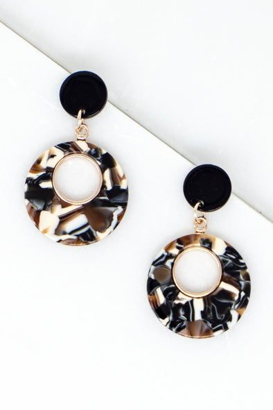 Rusan Cutout Earrings