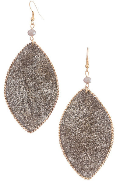 No Tears Earrings - Brown