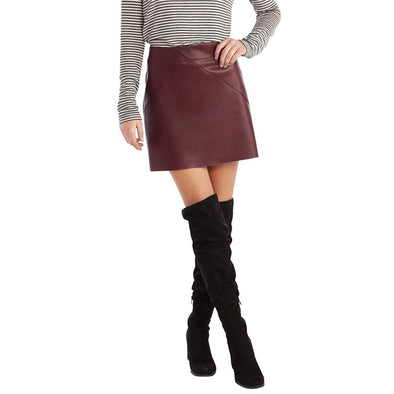 Eden Leather Skirt