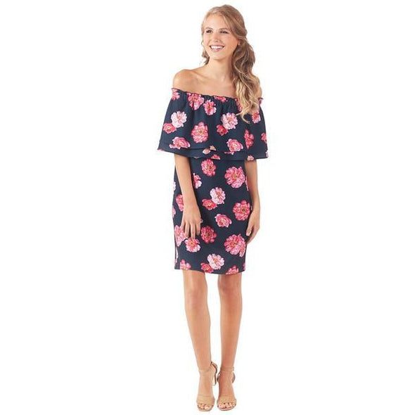 Pippa Off Shoulder Dress