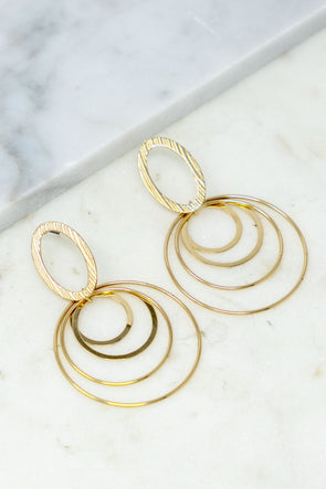 Golden Enchantment Earrings