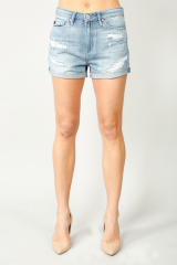 Like Old Times High Rise Shorts