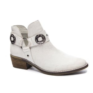 Austin Buff Leather Bootie