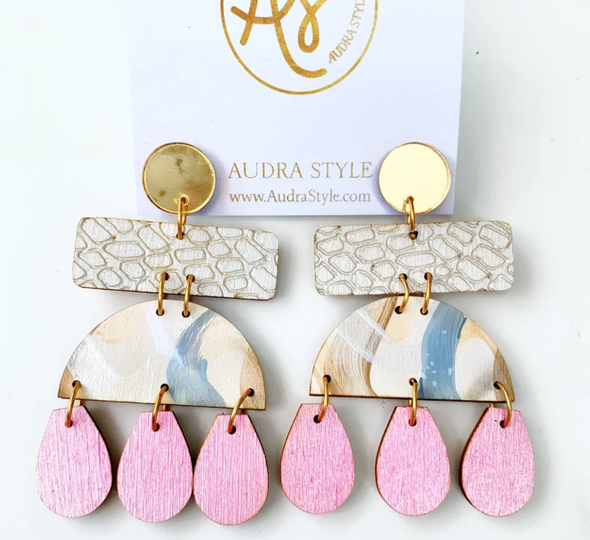 Shelly Drop Earrings - Multiple Colors