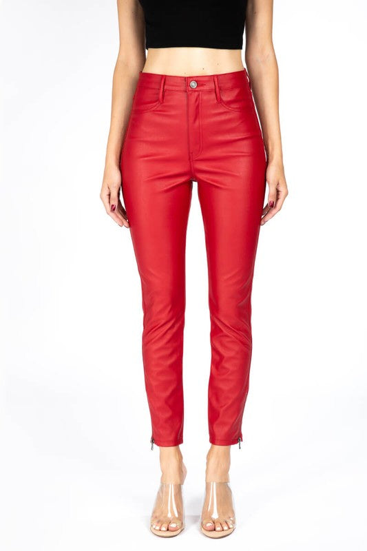 Forever Love Faux Leather Jeggings
