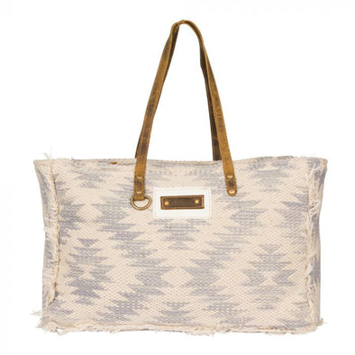 Shades of White Weekender Bag
