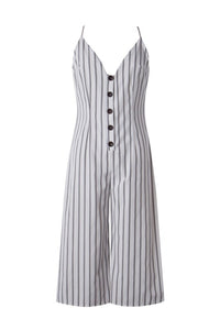 Just Like Me Striped Jumpsuit