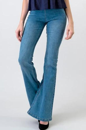 The New Pull On Flare Jeans