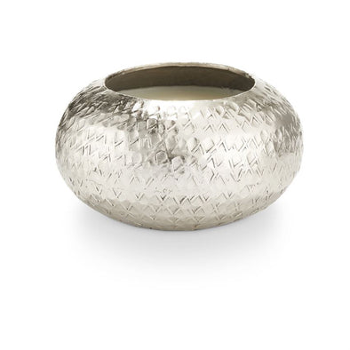 Balsam & Cedar Demi Textured Metal Candle