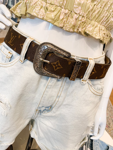 Repurposed Louis Vuitton Belt