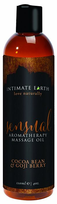 Intimate Earth Sensual Massage Oil 4oz