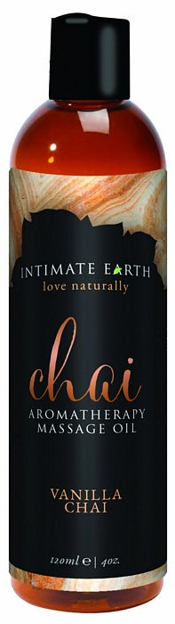 Intimate Earth Chai Massage Oil 4oz