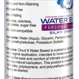Cloud 9 Water Based Personal Lubricant