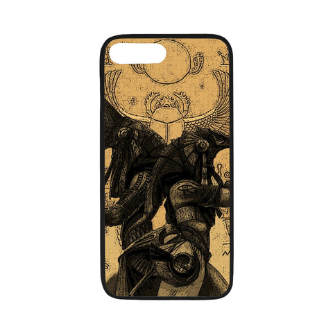 iPhone 7/7s Flexible Case - Anubis vs. Horus Drawing