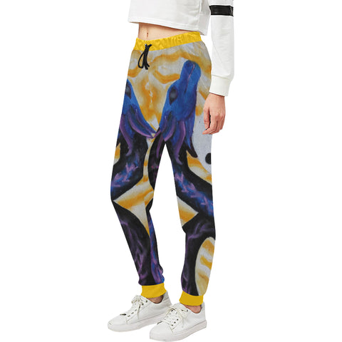 Dragon of Peace Women's Sweatpants
