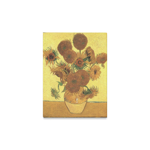 Sunflowers Oil Painting Canvas Wall Art Print