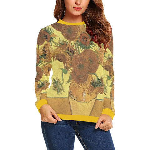 Sunflowers Women's Sweatshirt