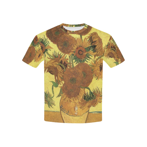 Sunflowers All Over Kid's T-Shirt