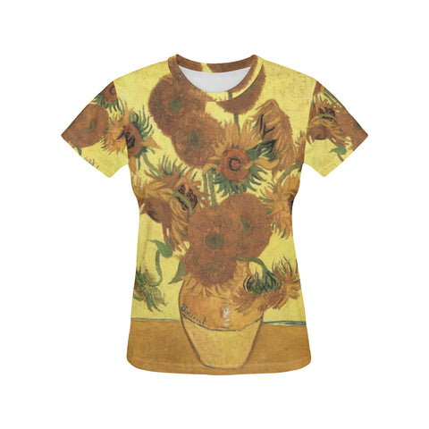 Sunflowers All Over Women's T-Shirt