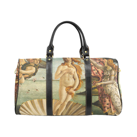 Travel Bag - The Birth of Venus by Sandro Botticelli