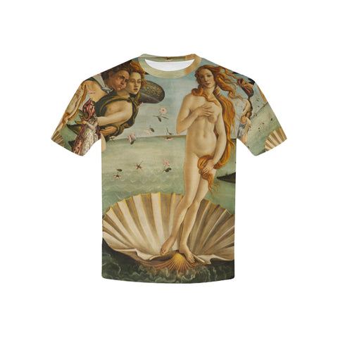 Birth of Venus All Over Kid's T-Shirt