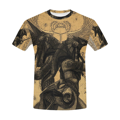 Anubis vs. Horus All Over Men's T-Shirt