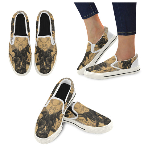 Anubis vs. Horus Casual Women's Shoes