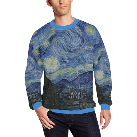 Starry Night Men's Sweatshirt